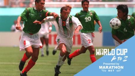เทอร์รี่ ฟีแลน กับทีมชาติไอร์แลนด์ในฟุตบอลโลก 1994