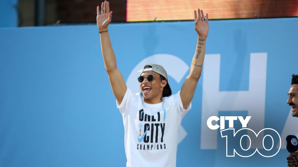 CITY 100: Today we look at Leroy's season and Delph's cracker v Stoke