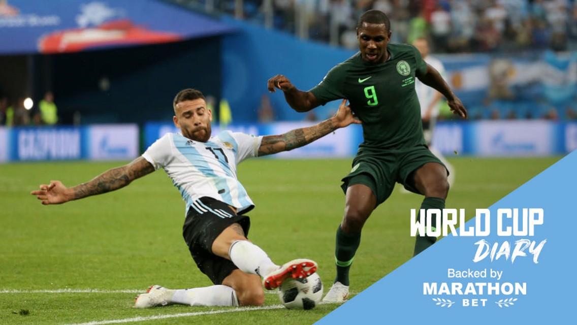 الأرجنتين نجحت في التأهل إلى دور الـ 16.