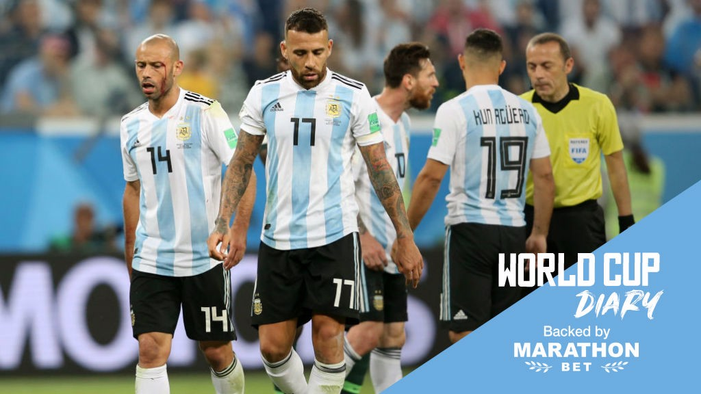 200d82bf5f2 RUSSIA 2018  Argentina are through to the last-16 after a dramatic victory  over