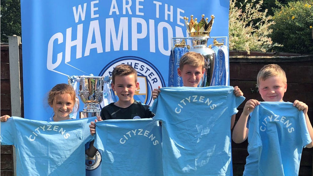 NAME GAME: It was an unforgettable experience for Junior Cityzens competition winner William and his friends