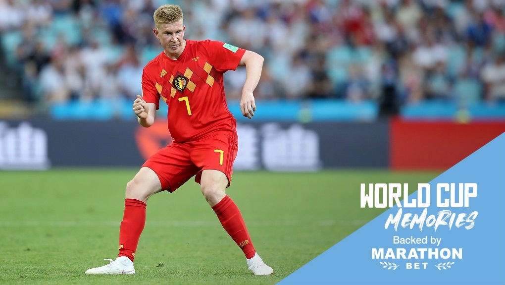 fe152386e World Cup memories  Kevin De Bruyne- Manchester City FC