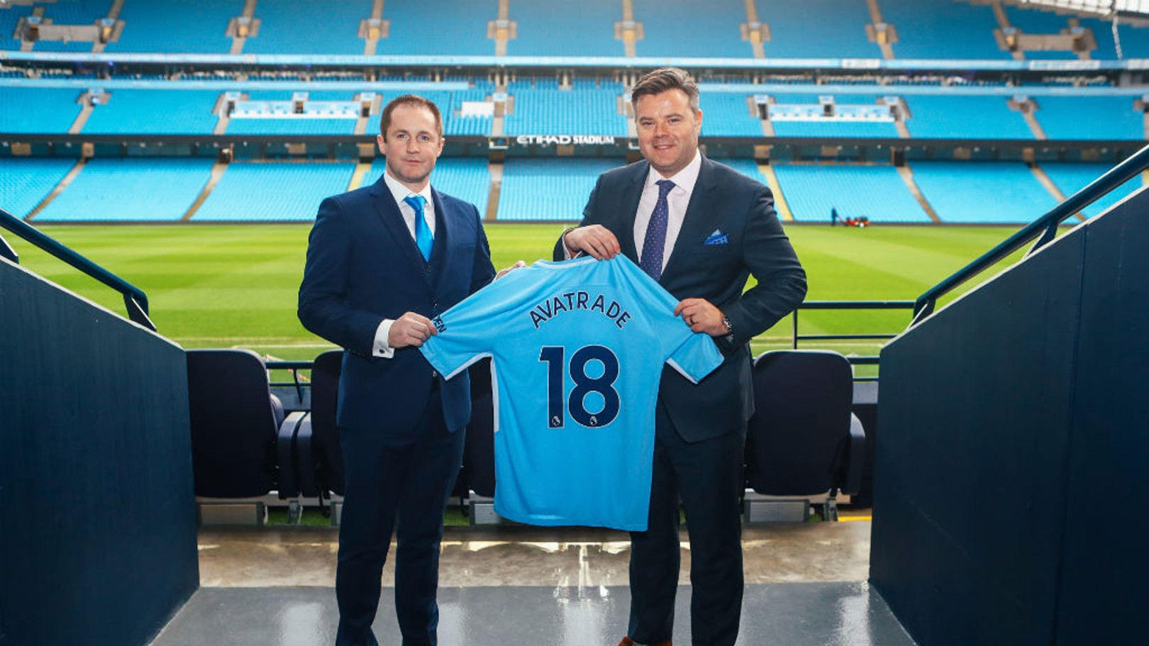 Manchester City have announced a global partnership with Avatrade