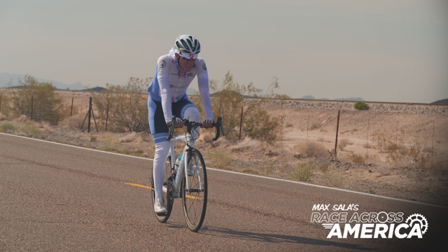 DAY ONE: Max Sala is racing across America