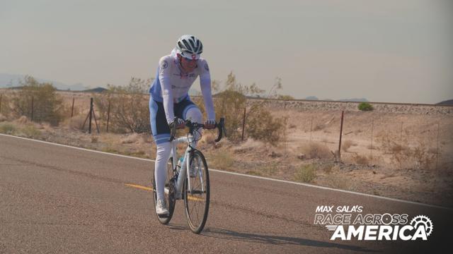 DAY ONE: Max Sala is racing across America