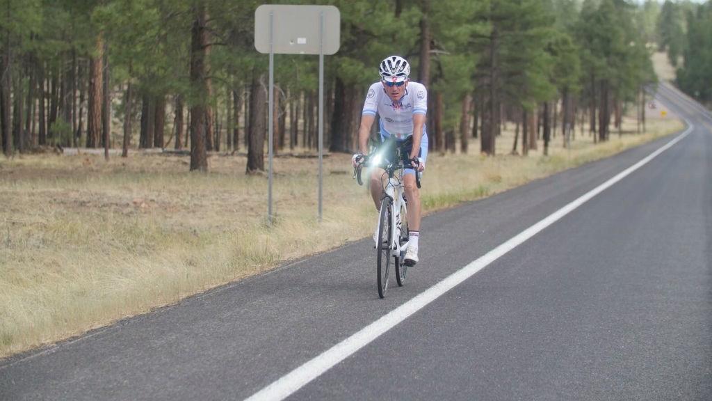 ENDURANCE: Max Sala on his race across America