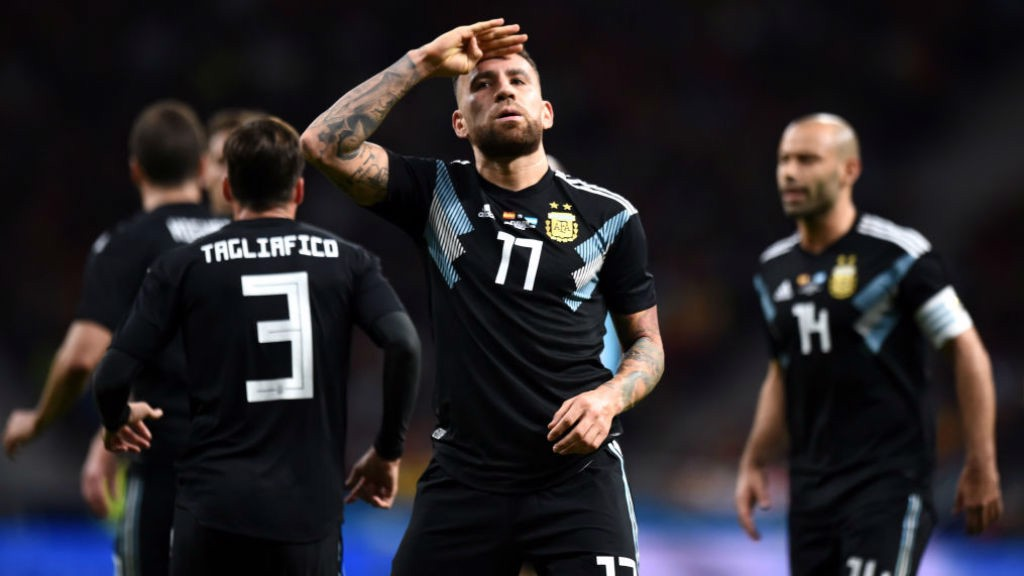 GENERAL ORDERS: Nicolas Otamendi is set to be a key figure for Argentina in their World Cup campaign
