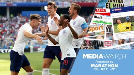جون ستونز سجل هدفين لإنجلترا في مرمى بنما.