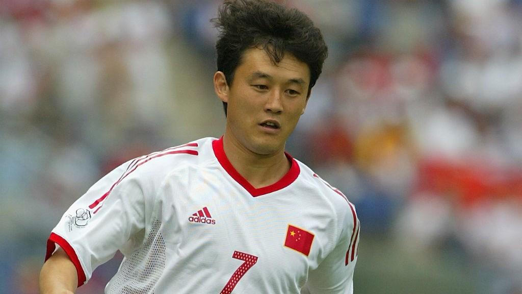 Sun Jihai participó en el único Mundial de China hasta la fecha.