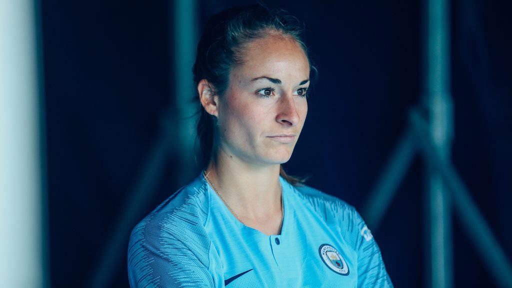 WELCOME TESSA: Wullaert has signed for City