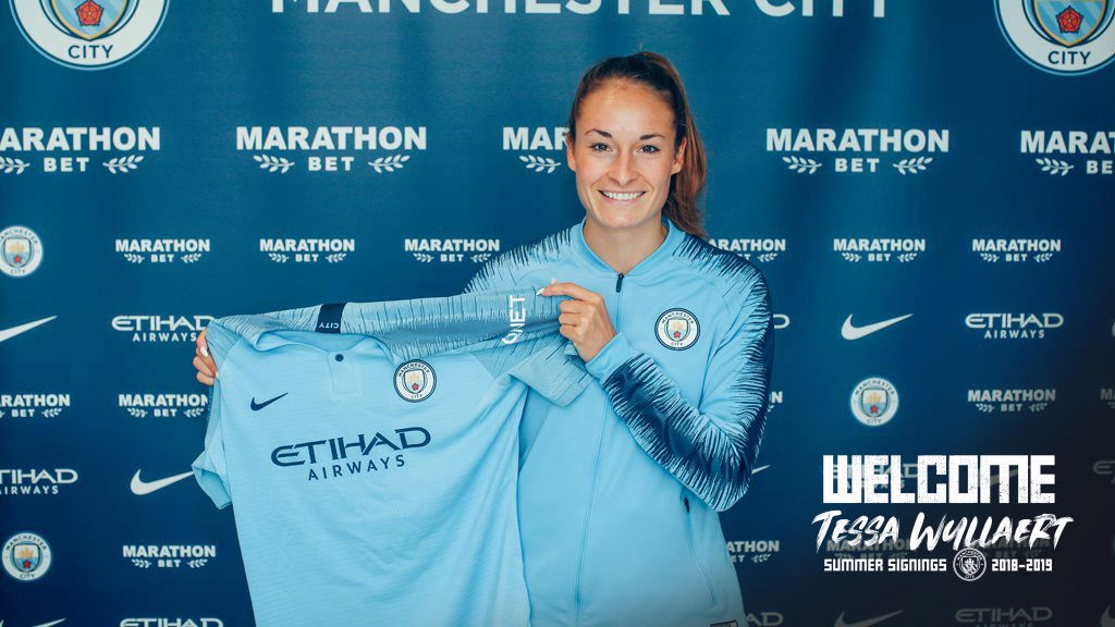 WELCOME TESSA: Wullaert has signed a two-year deal with City
