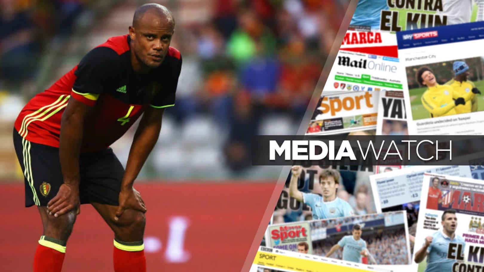 월드컵 23인 명단에 포함된 빈센트 콤파니