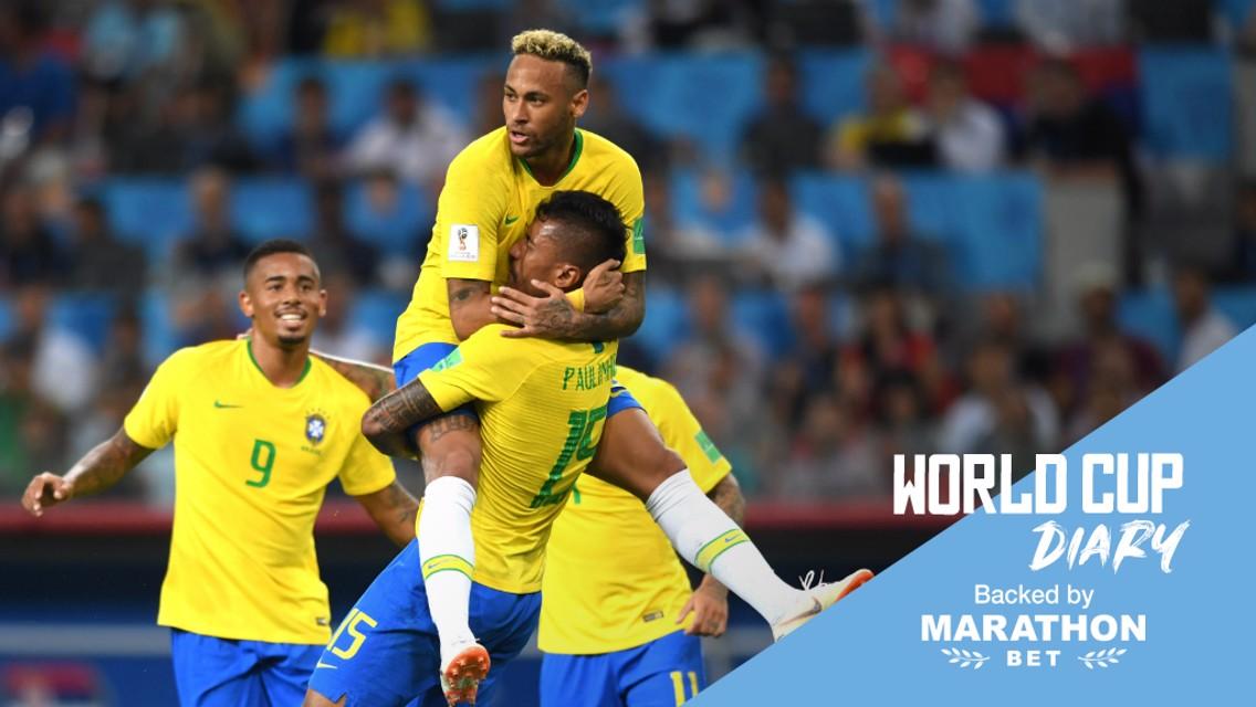البرازيل تعبر إلى دور الـ 16 في مونديال روسيا.