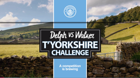 T'YORKSHIRE CHALLENGE: Delph vs. Walker.