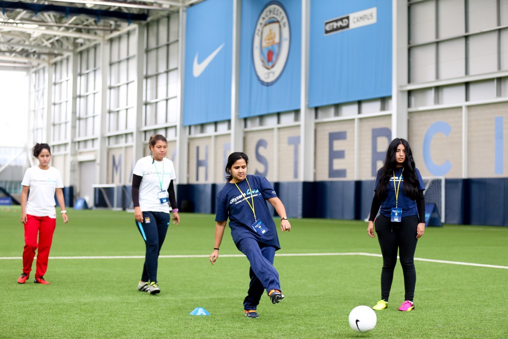 The City Football Academy will welcome more than 70 inspirational youngsters from across the globe