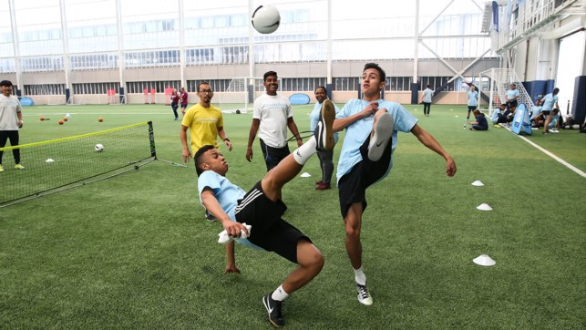 Our Young Leaders ensured they got into the competitive spirit on the first day of the Young Leaders Summit
