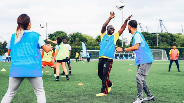 HIGH AND MIGHTY: The Young Leaders enhanced their coaching at the CFA