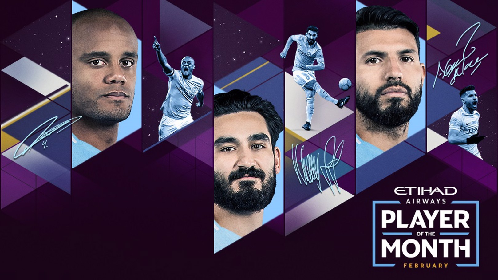 PREMIO ETIHAD AIRWAYS. ¿Quién ha sido el mejor jugador del City en febrero?