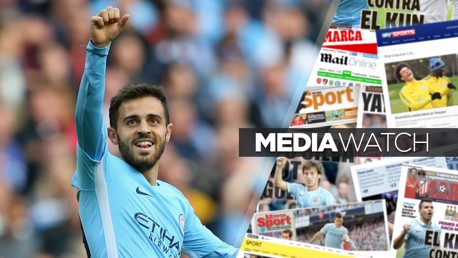 DERBY DREAM: Bernardo Silva says the prospect of winning the Premier League title against United excites him