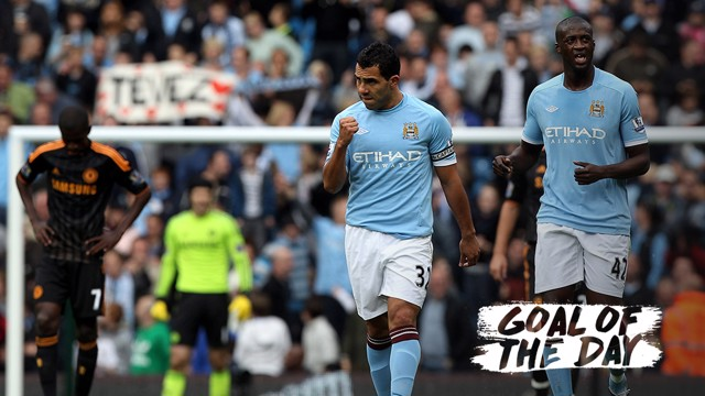 GOAL OF THE DAY | Carlos Tevez v Chelsea