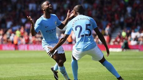 Sterling and Fernandinho back for City