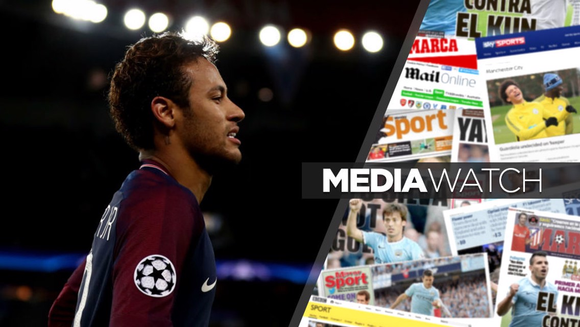 GOSSIP: Neymar has been linked with a move to City
