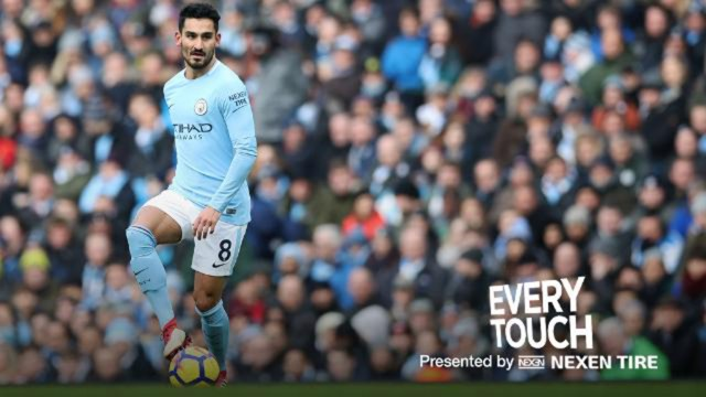 PASS MASTER: Ilkay Gundogan set a new Premier League record against Chelsea.