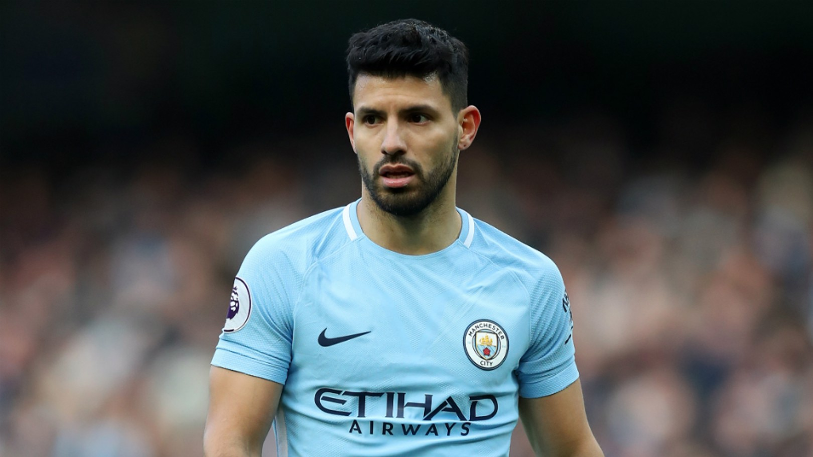SERGIO AGUERO: The Argentine striker suffered a knee injury in training over the weekend and will be assessed.