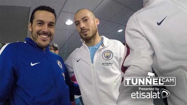 SPAIN GAME: Pedro and David Silva