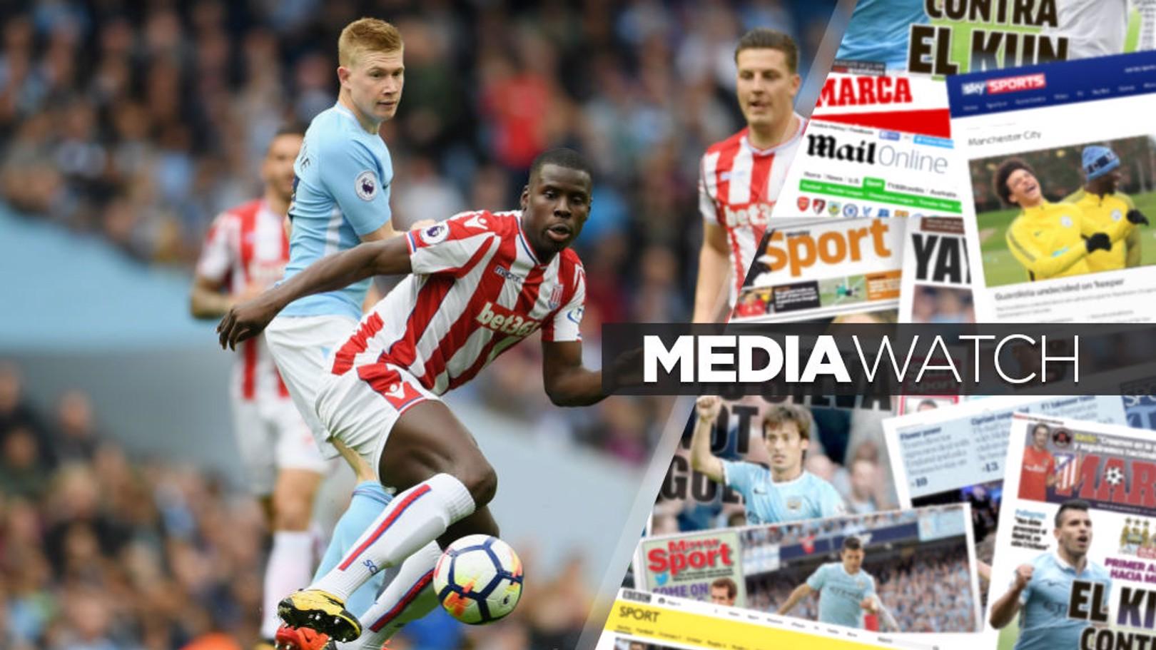 كورت زوما أكد للصحافة أنه يسعى للثأر من خسارة ستوك سيتي أمام مانشستر سيتي بنتيجة (7-2) في أكتوبر.