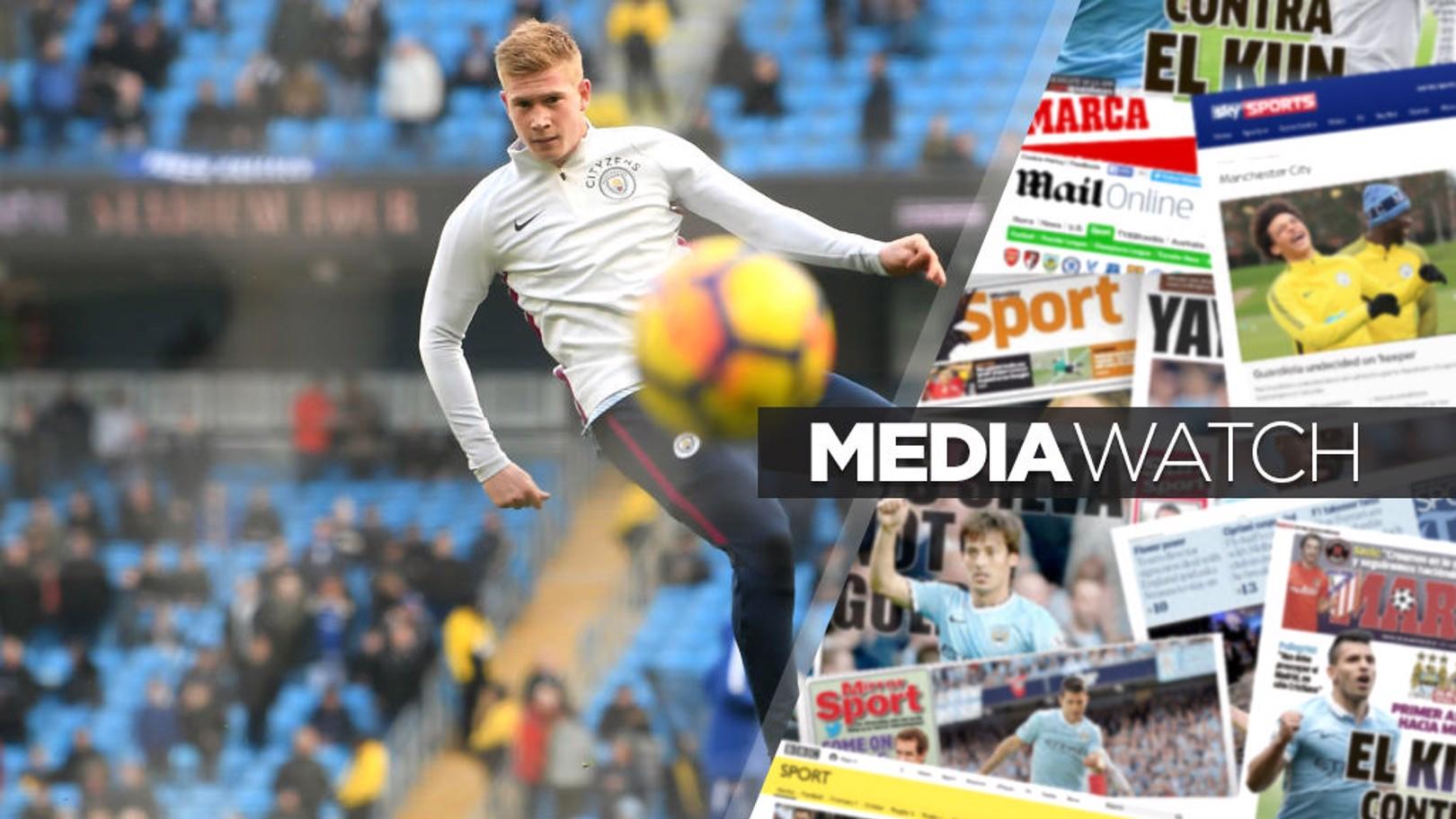 MAIN MAN: Kevin De Bruyne has been praised by Chelsea's Eden Hazard.