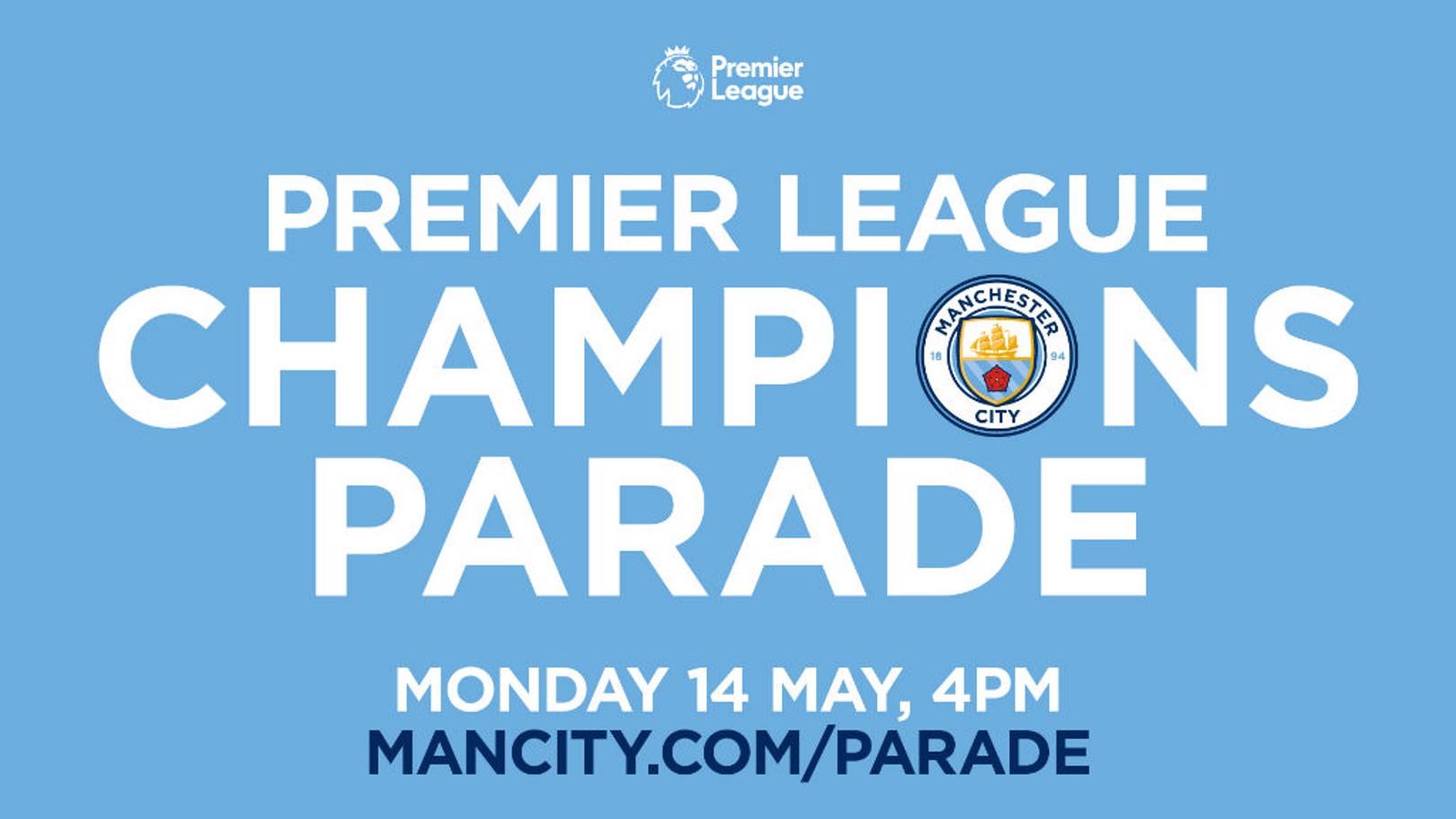 PARADE: Premier League Champions.
