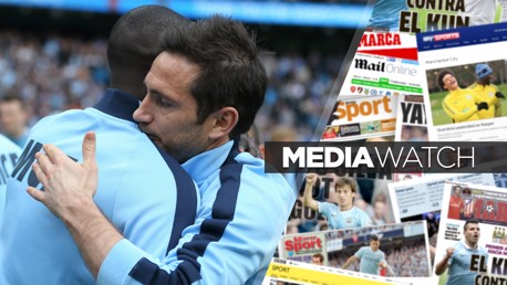 RESPECT: Two legends of the game - Yaya Toure and Frank Lampard