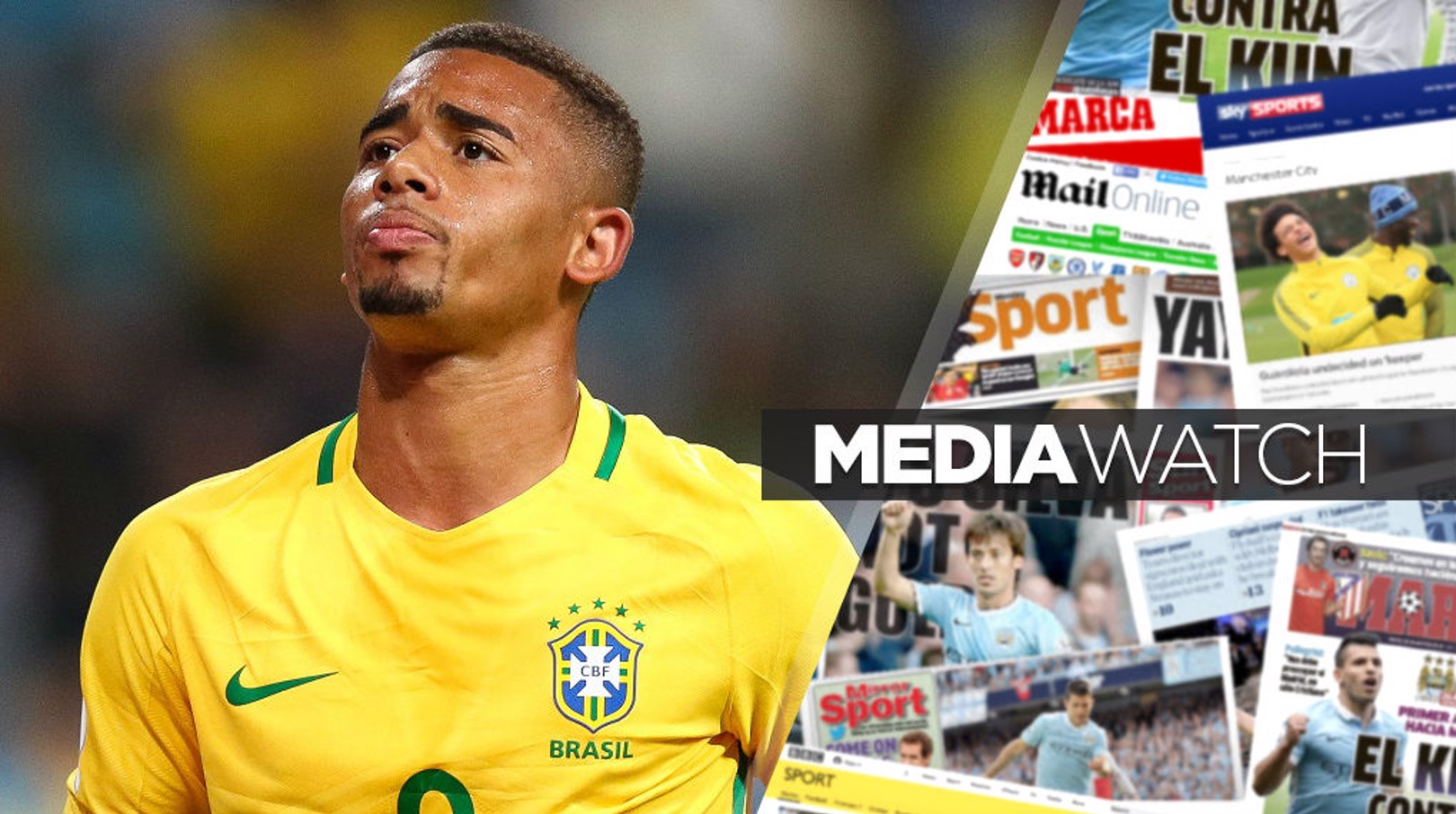 Gabriel Jesus on World Cup - and Panini stickers!