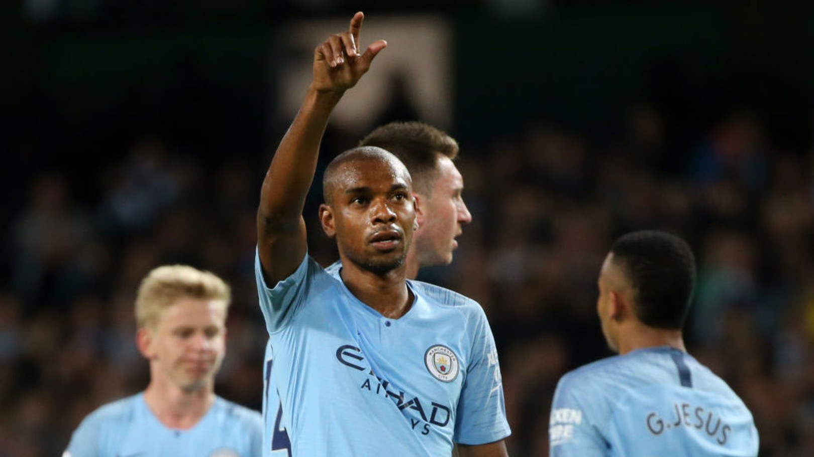 GOAL OF THE SEASON: Fernandinho v Stoke.