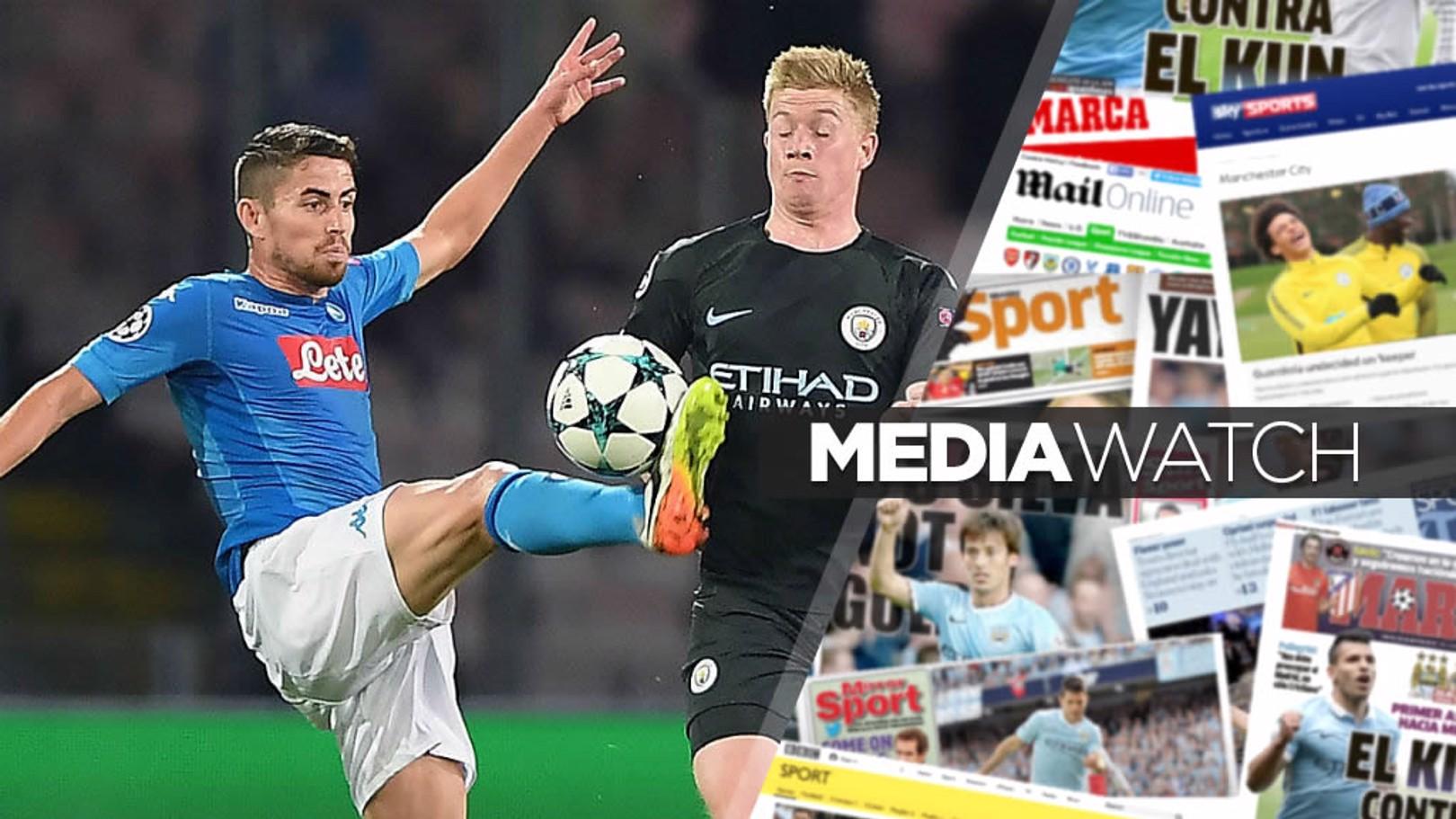 صحف تربط مانشستر سيتي بالتحرك لضم جورجينيو.