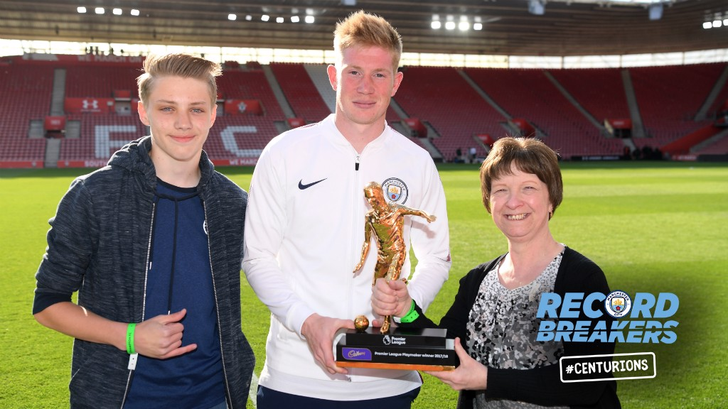 6de4e92665e1 ASSIST KING: Kevin De Bruyne clinched the Premier League Playmaker of the  Year Award