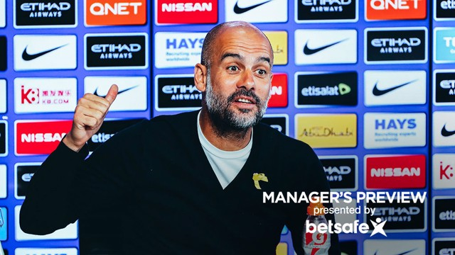 PEP TALK: The boss has some big praise for Kyle Walker in his press conference on Friday