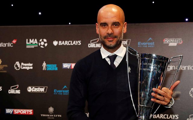 Image result for pep guardiola LMA award