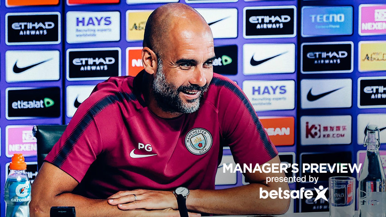 KING YAYA: Pep heaped praise on Yaya Toure at his press conference ahead of the game with Brighton
