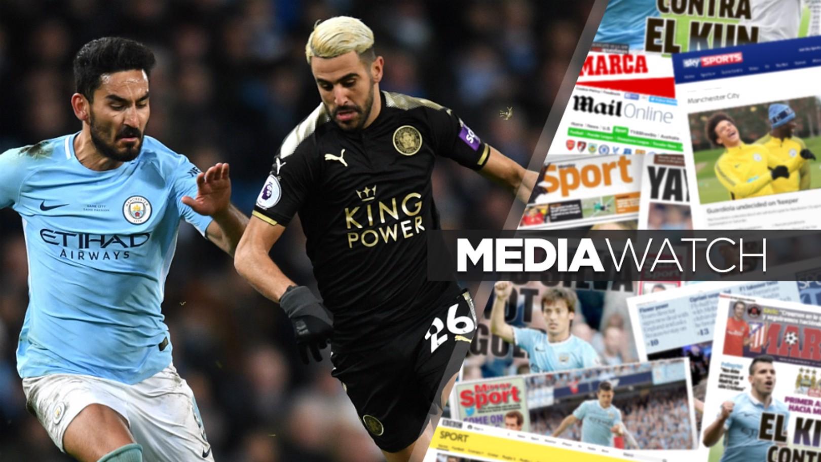 صحف تشير إلى أن مانشستر سيتي سيعيد محاولاته لضم رياض محرز في سوق الانتقالات الصيفية.