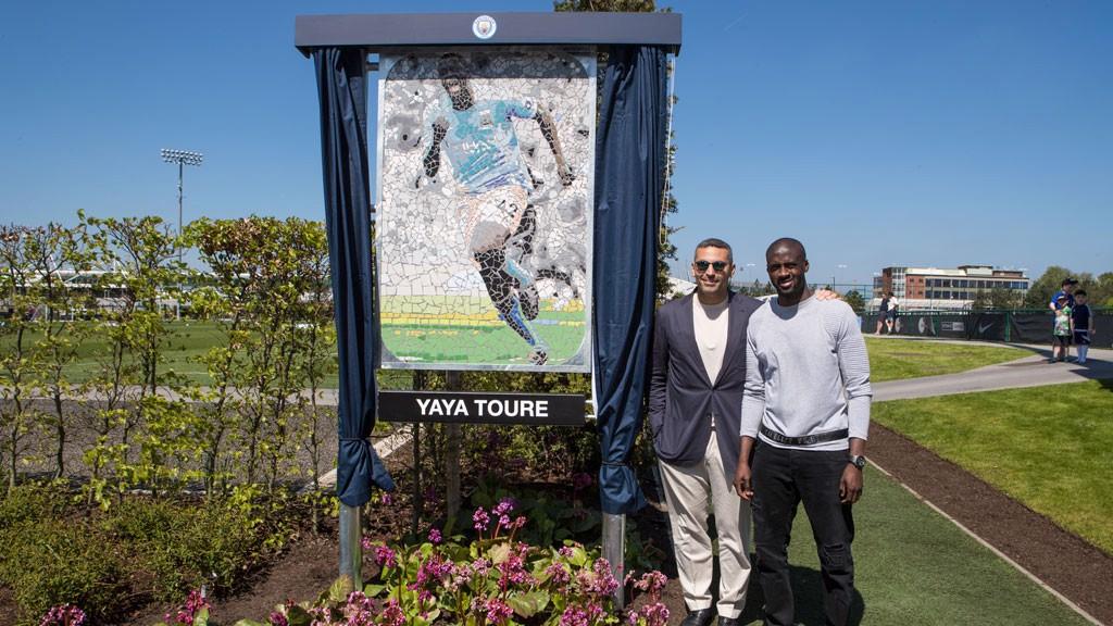 GRACIAS YAYA. Touré ya tiene su placa en la CFA.