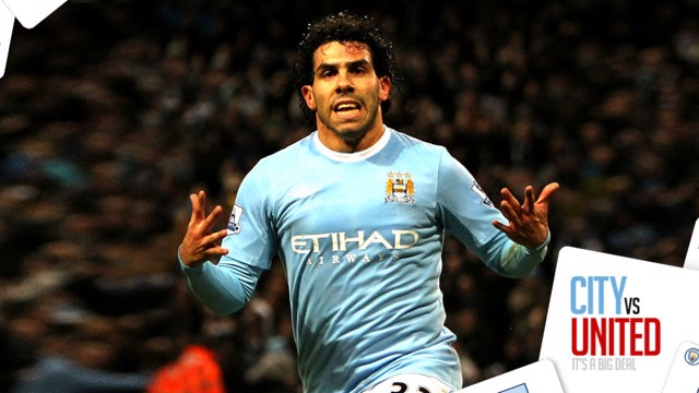 CITY v UNITED: Top 5 celebrations