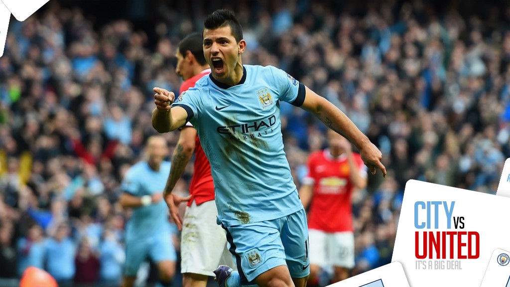 047021e4777 STAT ATTACK  Sergio Aguero has scored seven goals in ten Premier League  games against United