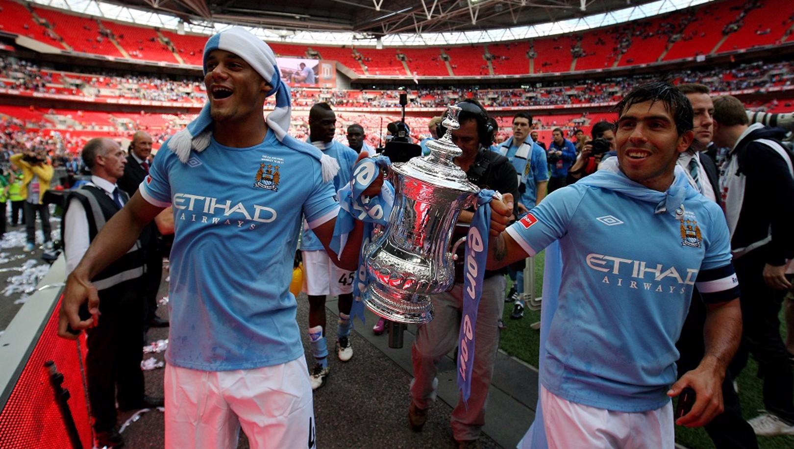 La FA Cup que el City ganó en la temporada 2010/11.