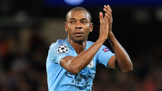 FERNA FANTASTIC: Fernandinho has somehow reached another level...