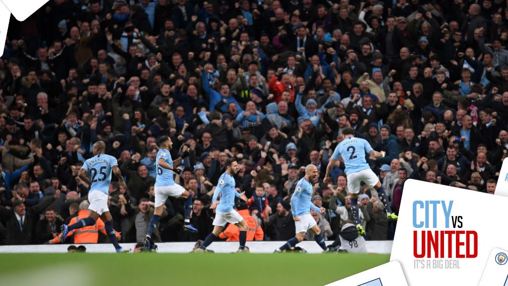 DEMOLITION DERBY: City were 3-1 winners in the 177th Manchester derby