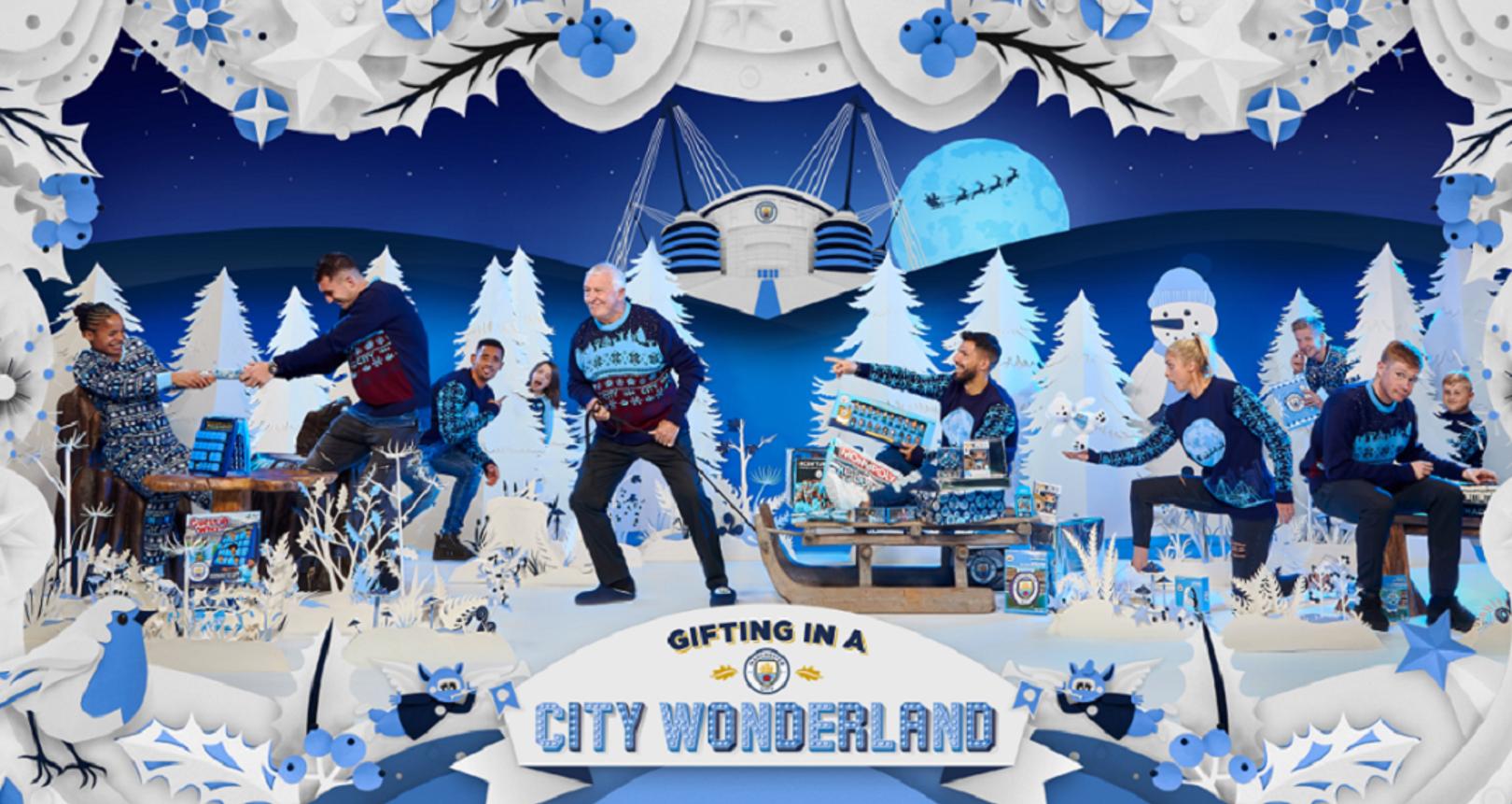 시티의 크리스마스 캠페인
