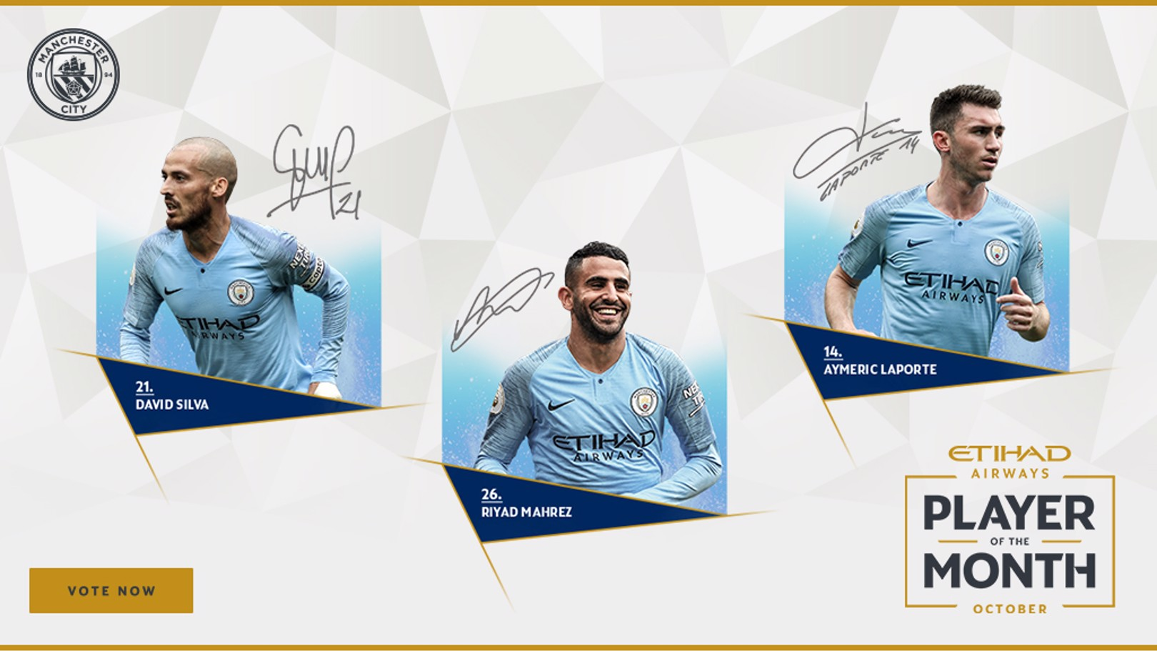 PLAYER OF THE MONTH: October's star men...