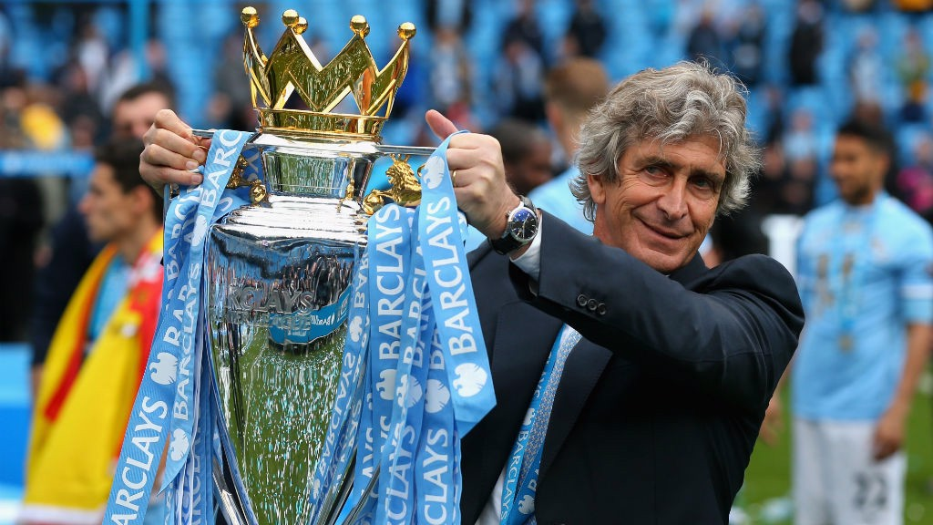 Image result for pellegrini man city